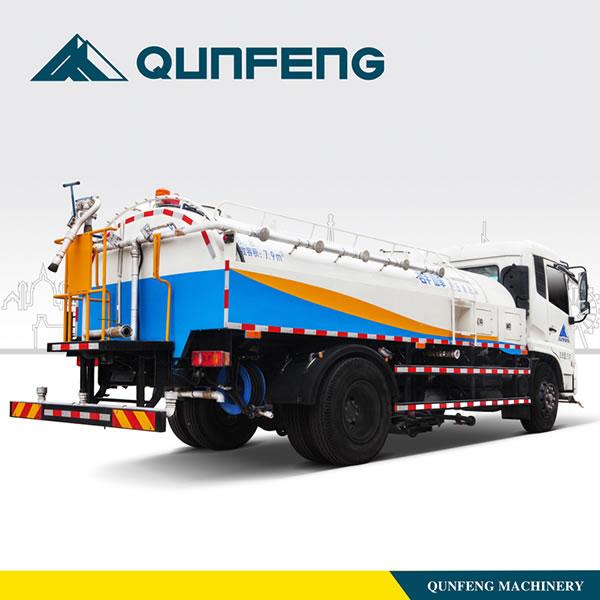 Camion Citerne Eau Engins De Nettoyage Qunfeng